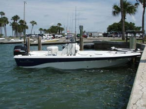 2009 Nautic Star Bay Boat for Flats and Inshore Fishing in Clearwater
